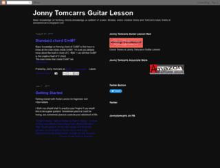 jonnytomcarrs.blogspot.com screenshot