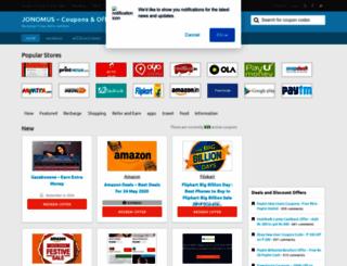 jonomus.net screenshot