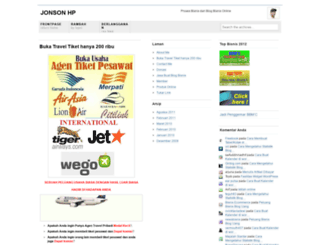 jonsonhisar.wordpress.com screenshot