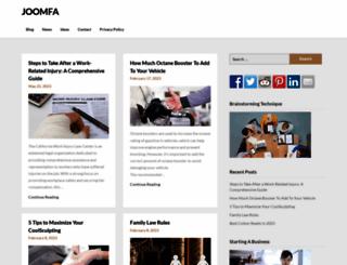 joomfa.org screenshot