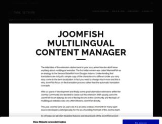 joomfish.net screenshot