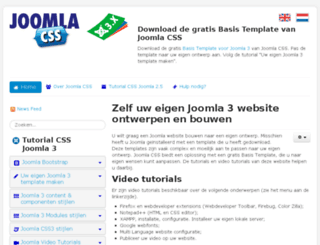 joomla-css.nl screenshot