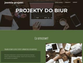 joomla-projekt.pl screenshot