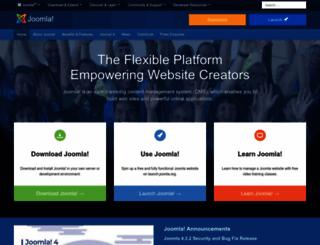 joomla.ca screenshot