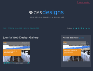 joomla.cmsdesigns.org screenshot