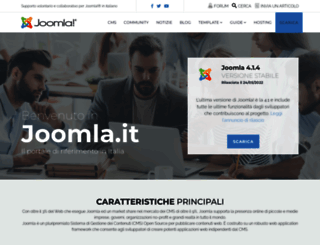 joomla.it screenshot
