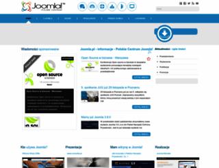 joomla.pl screenshot