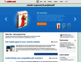 joomla.sakic.net screenshot