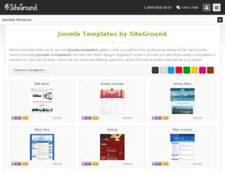 joomla15.siteground.com screenshot