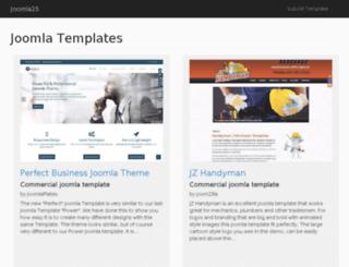 joomla25.com screenshot
