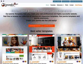 joomla2you.com screenshot
