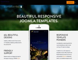 joomlabamboo.com screenshot