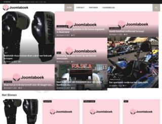 joomlaboek.nl screenshot