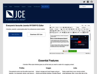 joomlacontenteditor.net screenshot