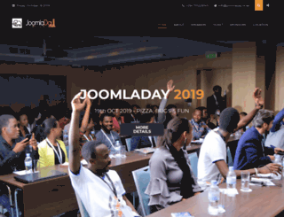joomladay.or.ke screenshot
