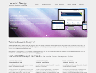 joomladesign.co.uk screenshot
