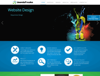 joomlafreaks.net screenshot