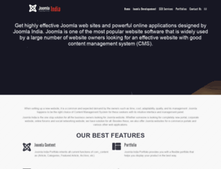 joomlaindia.co.in screenshot