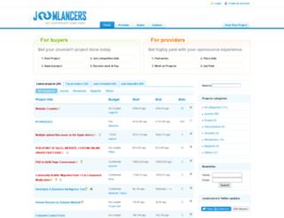 joomlancers.com screenshot