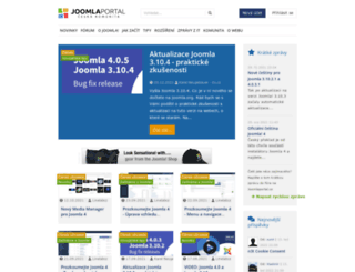 joomlaportal.cz screenshot