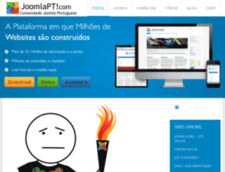 joomlapt.com screenshot