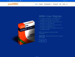 joomlarra.com screenshot