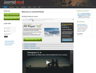 joomlarulez.com screenshot