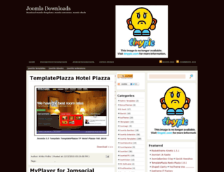 joomlasharing.blogspot.com screenshot