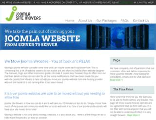 joomlasitemovers.com screenshot