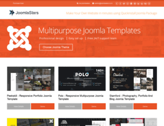 joomlastars.co.in screenshot