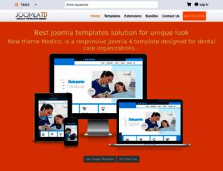 joomlatd.com screenshot