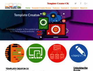 joomlatemplatemaker.com screenshot