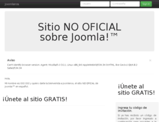 joomleros.com screenshot