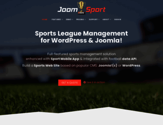 joomsport.com screenshot