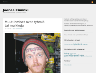 joonaskiminki.com screenshot