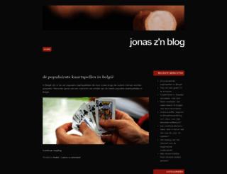 jooonas.net screenshot