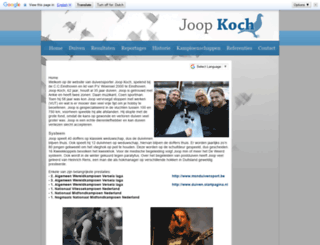 joopkoch.com screenshot
