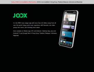 joox.com screenshot