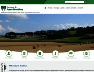 jorat-menthue.ch screenshot