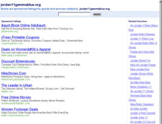 jordan11gammablue.org screenshot