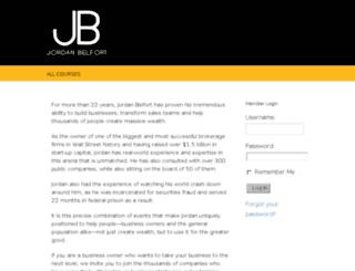 jordanbelfortmembers.com screenshot