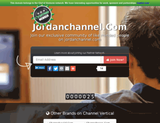 jordanchannel.com screenshot