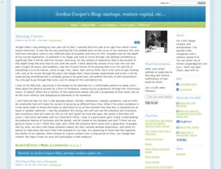 jordancooper.wordpress.com screenshot
