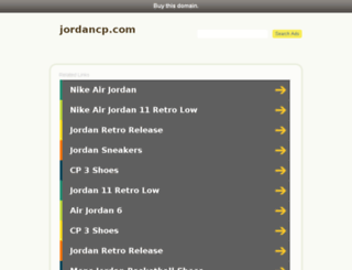 jordancp.com screenshot