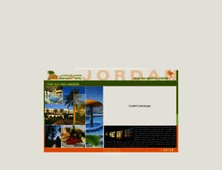jordandeadsea.com screenshot