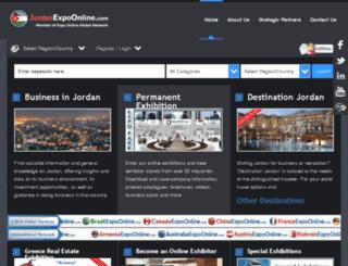 jordanexpoonline.com screenshot