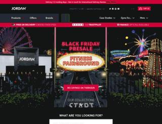jordanfitness.com screenshot