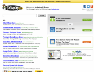 jordanheels12.com screenshot