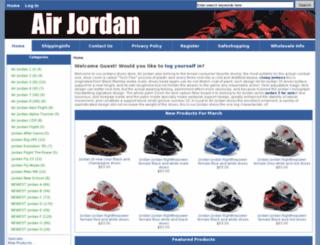 jordans5sforsale.com screenshot