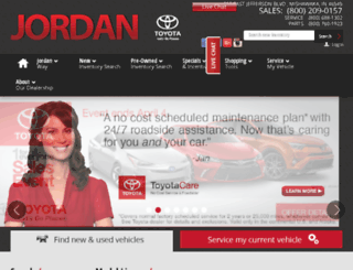 jordantoyota.calls.net screenshot
